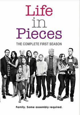 LIFE IN PIECES: Complete 2nd Season (3-Disc) NEW DVD