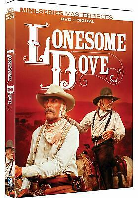 Lonesome Dove: Miniseries Masterpieces (DVD + Digital, 2019) BRAND NEW!