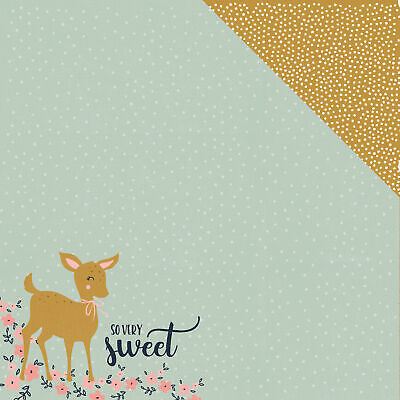 "Hide & Seek Double-Sided Cardstock 12""X12""-Fawn - 20 Pack"