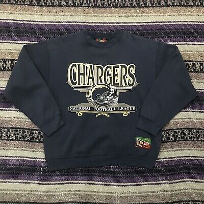 low priced cba92 ba315 VTG PRO PLAYER San Diego Chargers Crewneck Sweatshirt Large ...