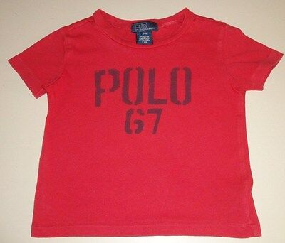 Boys Pre-Owned Size 24 Month Ralph Lauren Polo T-Shirt In Excellent Condition