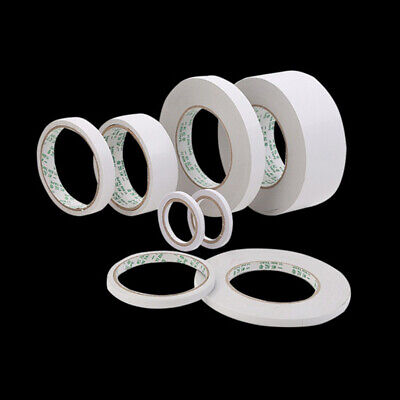 Strong Adhesive Clear Double Sided Sticky Tape DIY Craft Gift-Wrap 5MM-20MM
