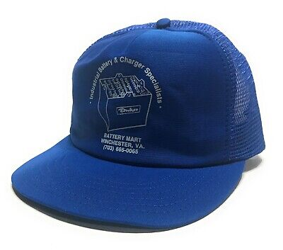 65cf213f7 WINCHESTER VINTAGE TRUCKER Hat Snap Back Mesh X 2 1970s 80s - $59.00 ...