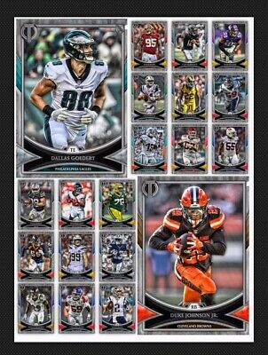 20 Card Set-Tribute Silver Base-Drop 2-Topps Huddle 19 Digital