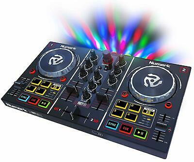 Numark Party Mix ? Starter DJ Controller with Built-In Sound Card & Light Show