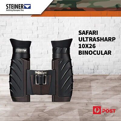 Steiner Safari Ultrasharp 10x26 Water Fog Proof Focuse Binocular Sharpness Image