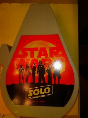 Star Wars Solo Millennium Falcon Drink Bottle Movie Theater Exclusive New