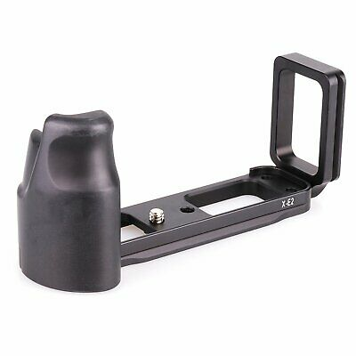 Quick Release Vertical Plate Bracket Hand Grip Holder for Fujifilm Fuji XE2 XE1