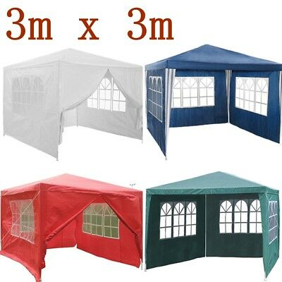 Panana 3mx 3m 120g Waterproof Outdoor PE Garden Gazebo Marquee Canopy Party Tent
