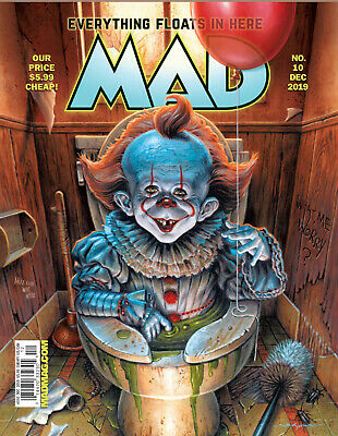 Mad Magazine #10 🔥Final Last issue!🔥2019 End of an Era - Ships 10/16/19 Cheap!