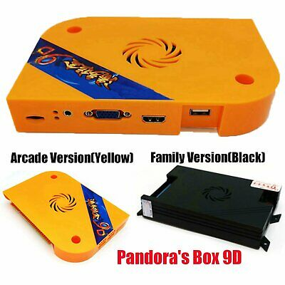 2500 in1 Pandora Box 9D Motherboard HDMI Family / Arcade Version Game Console