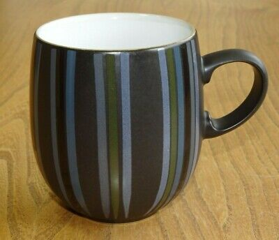 Denby JET STRIPES Mug Large Curve