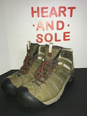 01e054f2d8d KEEN 1257-BOBN VOYAGEUR Mid Mens 10.5 - 45 Brown Leather Outdoors Hiking  Boots
