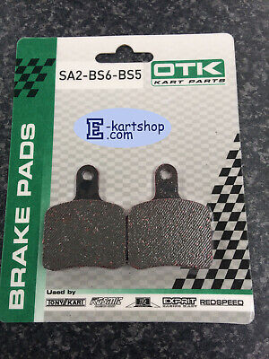 OTK brake pads pre 2017 onwards tonykart alonso kosmic