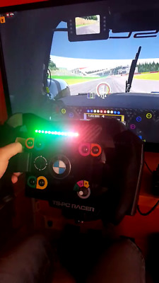 Ts-pc racer thrustmaster only LED mask mod