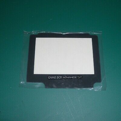 GBA SP Glass Screen Lens Scratch Resistant Gameboy Advance Nintendo Replacement