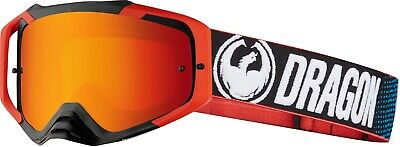 Dragon MXV MAX Motocross MX Downhill MTB Goggles - Factory / Red Ion