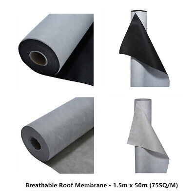 Roofing Breathable Membrane Felt Strotex Ultra By the M2 1.5m width shingle roof