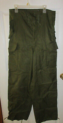 RARE NATO 1989 CANADIAN FORCES MILITARY EXTREME COLD WEATHER COMBAT SZ 7 Long/SM