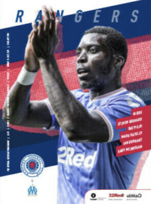 Rangers v Olympique de Marseille - Pre-Season Friendly - 14 July 2019 - Mint