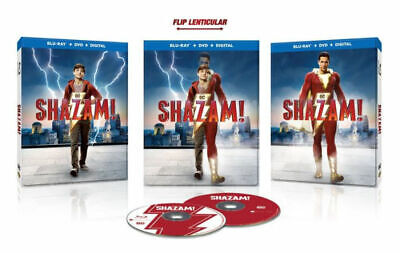 Shazam! (Blu-ray + DVD + Digital Combo Pack) 2-Disc Special Edition, Brand New