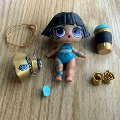 LOL Surprise Doll PHARAOH BABE Series 3 CONFETTI POP toys as picture RARE