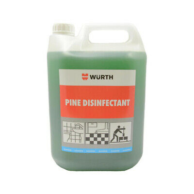 Genuine Wurth Pine Disinfectant 5L Litre Floor Bathroom Mop