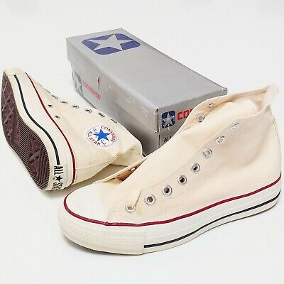 Converse All Star Canvas HI Vintage 1980s KOREA Youth 6 DeadStock New Sport