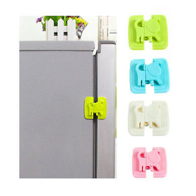 Baby Kids Child Safety Lock Door Stopper Fridge Cupboard Cabinet Drawer Pet