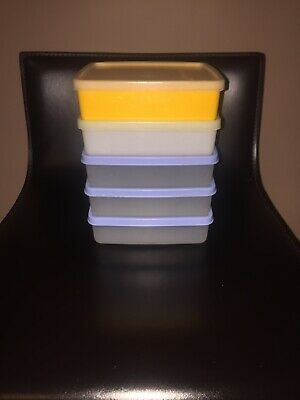 5 X 670 Tupperware Sandwich Square A Way Keepers With Lid