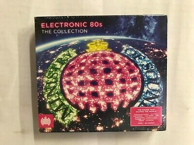 Electronic 80s The Collection Ministry Of Sound New and Sealed , Y+CG