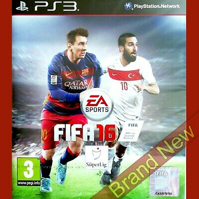 FIFA 16 - PlayStation 3 PS3 ~ Hungarian cover Game in English Brand New & Sealed