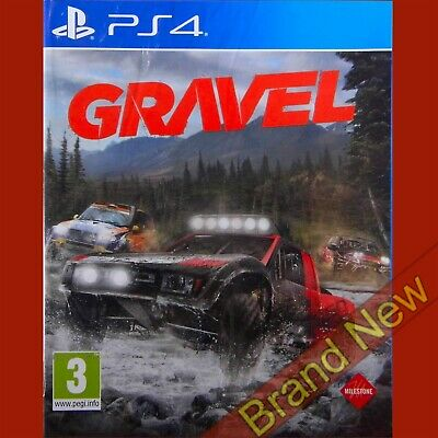 GRAVEL - PlayStation 4 PS4 ~3+ Spanish cover, Game in English Brand New & Sealed