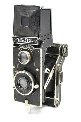 Rare Welta Superfekta folding twin lens reflex