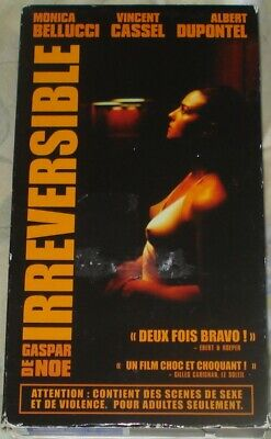 IRRÉVERSIBLE (vhs,2003,french,widescreen,dolby surround) working condition