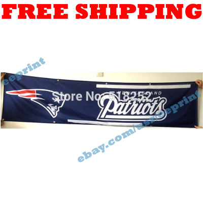 f96f7a04 NFL NEW ENGLAND Patriots Premium Fabric Deluxe Flag 3' x 5' with ...