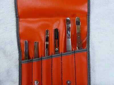 Snap-On Tweezer Set (tool roll) - electronics, mechanical, modelling, crafting