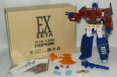IN STOCK!Transform Toys Zeta EX-06 G1 MP Scale Optimu OP Action figure