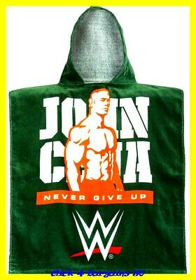 New Official John Cena Hooded Poncho 3-12 Years (Aprox 50*115Cm)  Ideal Bathtime