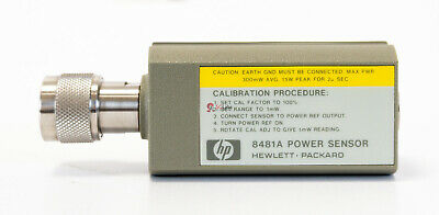 HP Agilent Keisight 8481A Average Power sensor Sensore 10 MHz 18 GHz  -30 +20dBm