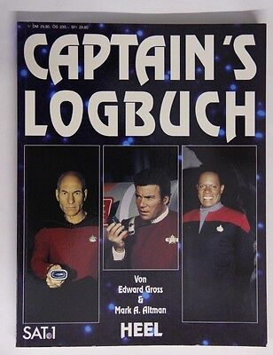 Captain's Logbuch (E. Gross, Mark. A. Altman) Star-Trek Lexikon Buch Episoden
