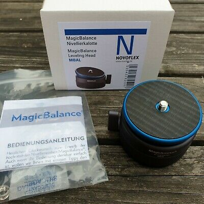Novoflex MagicBalance MBAL leveling levelling base excellent condition in box
