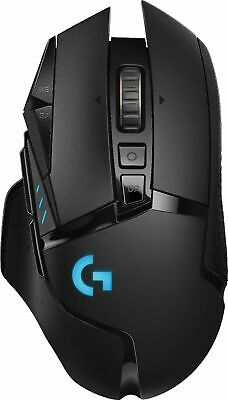 Logitech G502 HERO Wireless High Performance Optical Gaming Mouse RGB Lighting