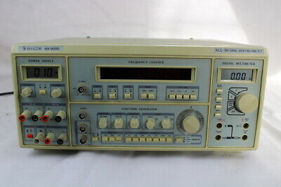 MX-9000 All-In-One Instrument Tester Power Supply Signal Generator Freq Counter