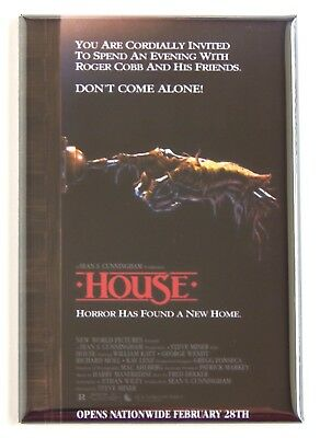 House FRIDGE MAGNET (2.5 x 3.5 inches) movie poster horror