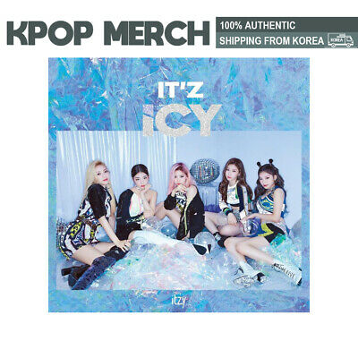ITZY - IT'Z ICY (incl. Pre-order Gift, One Random Acrylic Photocard)