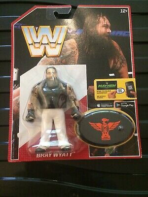 Wwe Bray Wyatt Retro App Action Mattel Series 6 Wrestling Figure. Wwf Hasbro