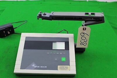 Mettler Toledo Delta 340 pH Meter Laboratory Analytic Data Controller with Stand