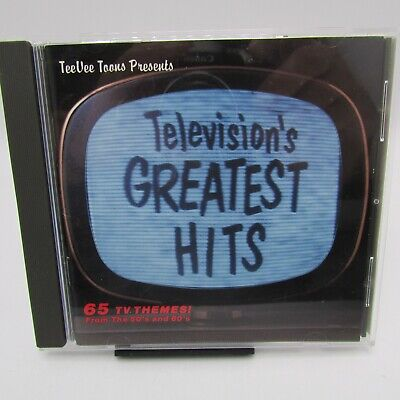 Television's Greatest Hits CD 1986 65 TV Themes from the 50's and 60's