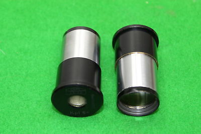 Pair of Carl Zeiss Kpl 8x Microscope Eyepieces Lens Laboratory Lab Equipment